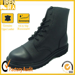 High Security Full Leather Military Ankle Boots pictures & photos