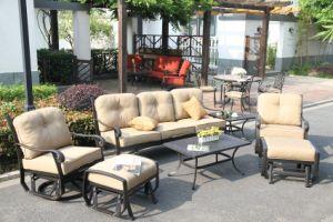 Swivel&Glide Chat Group Cast Aluminum Set Patio Furniture pictures & photos