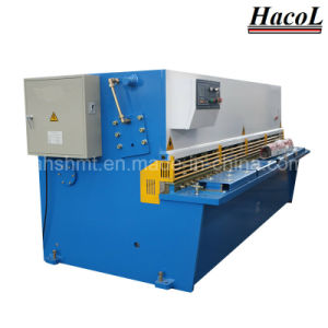 Nc Hydraulic Plate Shearing Machine / Swing Beam Shearing pictures & photos