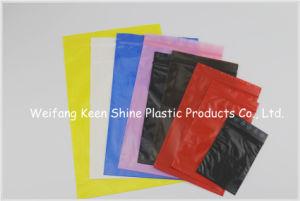 Pink Color Antistatic LDPE Ziplock Bag / Static PE Bag / Custom Printed ESD PE Bags pictures & photos
