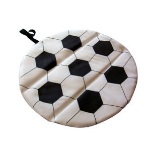 Soccer Shape Foldable Seat Cushion pictures & photos