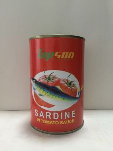 Best Selling 155g Canned Sardine in Tomato Sauce pictures & photos