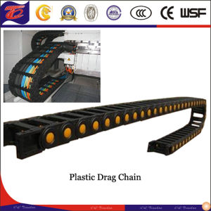 Custom Fully Enclosed Rollers Cable Drag Chain System pictures & photos
