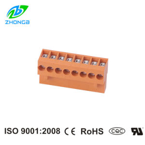 China Manufacturer of Pluggable Terminal Block (ZBHT396) Pitch 3.96mm