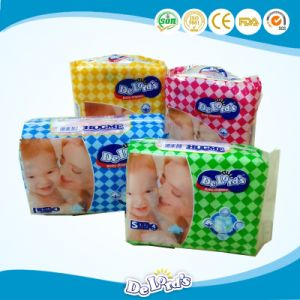 Sri Lanka Diaposable Cheap Magic Tape Baby Diaper pictures & photos