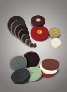 Wire Drawing Non Woven Polishing Wheel pictures & photos