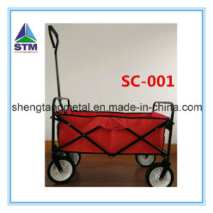 Stainless Steel Rolling Garden Way Cart pictures & photos
