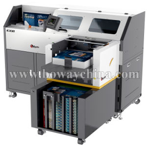Office Supply 2 Become 1 Digital Creaser and Hot Melt Pur Glue Perfect Book Binding Machine pictures & photos