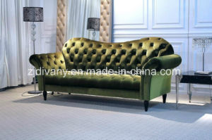 Neo-Classical Sofa Furniture Wooden Fabric Sofa (LS-121-C) pictures & photos