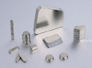 Custom Power N52 Nickel Plated Trapezoid Neodymium Magnets in Bulk pictures & photos