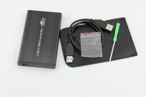 Aluminum USB2.0 HDD Enclosure Support All 2.5-Inch Laptop Hard Drive Case pictures & photos
