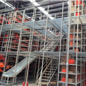Multi Level Steel Mezzanine Floor Rack pictures & photos