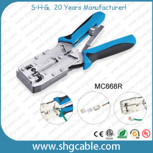 Profession Modular Plug Crimper for LAN Cable CAT6 8p8c RJ45 Connector pictures & photos