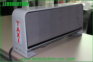 P6 Double-Sided 3G Wireless Taxi LED Display pictures & photos