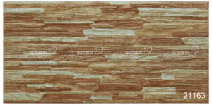 Ceramic Rustic Yellow Stone Exterior Wall Tile (200X400mm) pictures & photos