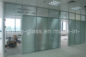 8mm 10mm Decorative Tempered Float Glass Shower Panel pictures & photos