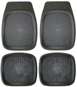 High Quality 3D Design Anti-Slip PVC-NBR Car Floor Mat (C1120)