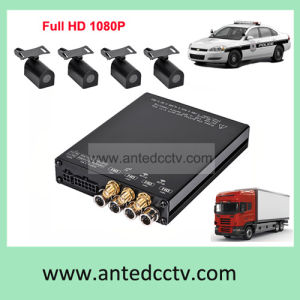 4 Channel Mobi Mini Mobile DVR with GPS 3G WiFi for Vehicles Cars Buses pictures & photos