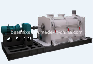 Single Shaft Paddle Mixer for Plastic Powder Mix pictures & photos