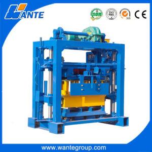 Concrete Hollow Manual Block Machine (QT40-2) pictures & photos