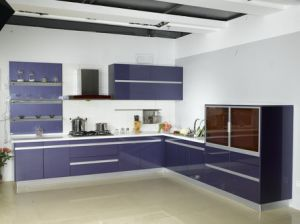 Wholesale Modern Lacquer Kitchen Cabinet pictures & photos
