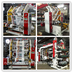 High Speed Four Color Flexo Paper Pritning Machine pictures & photos