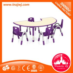 New Arrival Preschool Plastic Children′s Tables and Chair pictures & photos