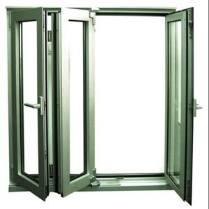 Exterior Aluminum Bi-Fold Window with Ausrtralian Standard Glass (TS-1117) pictures & photos