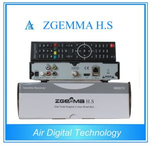 Satelleite TV Receiver Zgemma H. S HD DVB S/S2 Support IPTV Enigma2 Linux OS Support SD Card Dual Core CPU pictures & photos