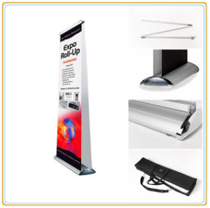 Floor Standing Double Banner Stand (85*200cm) pictures & photos