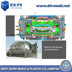 Auto Car Bumper Injection Plastic Mould (Auto Mold) pictures & photos