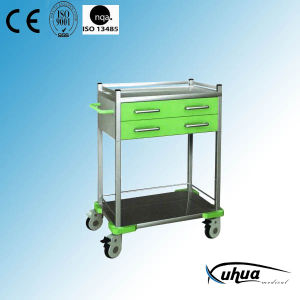 Mobile Hosptial Medical Treatment Medicine Trolley (N-19) pictures & photos