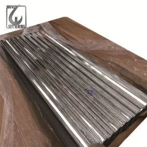 0.4mm Thickness 800mm After Corrugated Zinc Coated Corrugated Steel Sheet pictures & photos