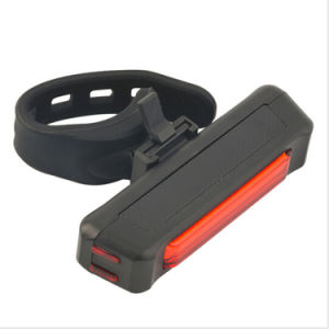 IP67 120lm Bright USB Built in Battery 500mAh Rehcargeable Bike Rear Tail Light pictures & photos