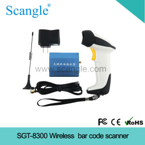 Portable Wireless Laser Barcode Reader (SGT-8300) pictures & photos