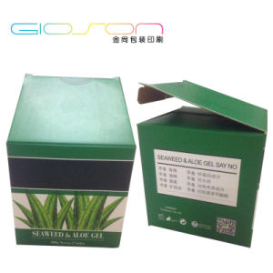 Paper Board Folding Packing Cosmetic Box for Mask pictures & photos