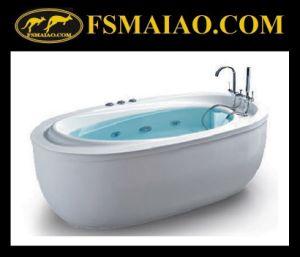 Ellipse Shape Acrylic Freestanding Bathtub (BA-8512) pictures & photos