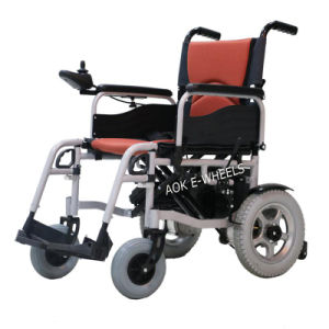Mobility Power Wheelchair with Electromagnetic Brake for Disabled People (PW-002) pictures & photos