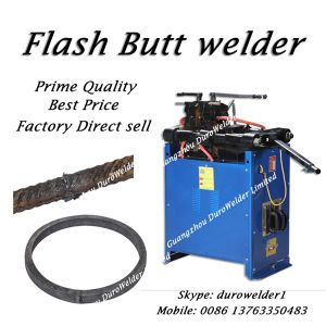 Steel Rebar Flash Butt Welding Machine pictures & photos