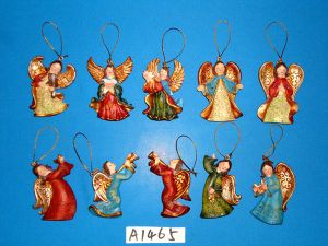 Resin Angel Ornaments for Christmas Tree Decoration pictures & photos