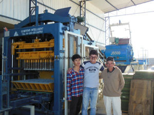 Concrete Block Making Machine pictures & photos