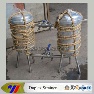 Stainless Steel Saniatry Duplex Strainer pictures & photos
