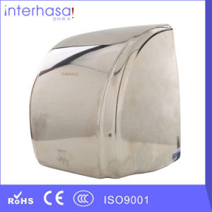 New Popular Induction Sensor Stainless Steel 304 Hotel Toilet Hand Dryer pictures & photos