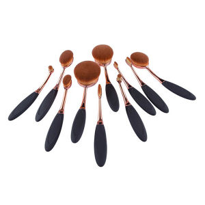 10 PCS Toothbrush Oval Cosmetic Brush New Makeup Brush pictures & photos