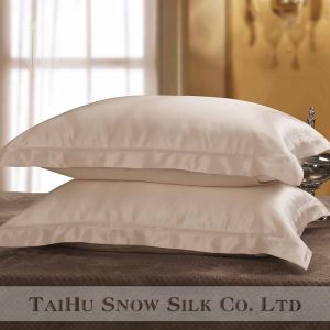 Taihu Snow Silk Luxury Embroidery Colourful Sham Oxford Silk Pillowcase Best for Hair and Skin pictures & photos
