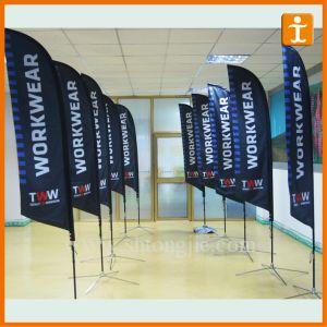 Factory Cheap Wholesale Feather Flag (TJ-60) pictures & photos