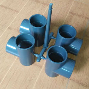 PVC Tee Mould, Pn16 DIN Standard for Drainage pictures & photos