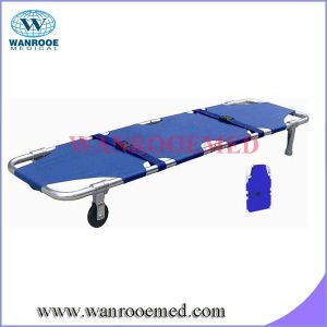 Two Folding Stretcher with Wheel pictures & photos