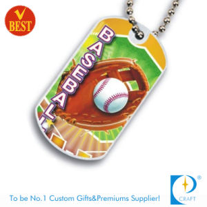 High Quality China Customized Metal Printed Dog Tag at Low Price pictures & photos