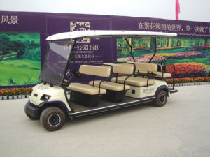 4 Wheels Electric Passenger Cart for Sale (LT-A8+3) pictures & photos